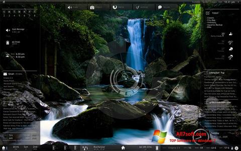Screenshot Rainmeter Windows 7