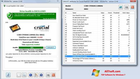 Screenshot SSDLife Windows 7