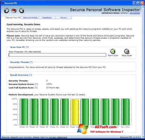 Screenshot Psi Windows 7
