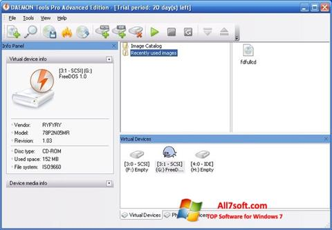 Screenshot DAEMON Tools Pro Windows 7