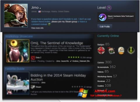 Screenshot Steam Windows 7