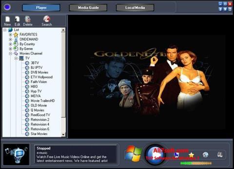 Screenshot Online TV Live Windows 7