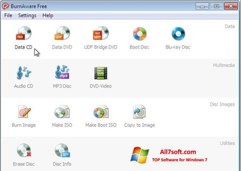 Screenshot BurnAware Free Windows 7