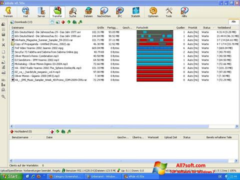 Screenshot eMule Windows 7