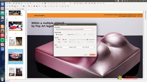 Screenshot Master PDF Editor Windows 7
