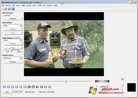 Screenshot Avidemux Windows 7