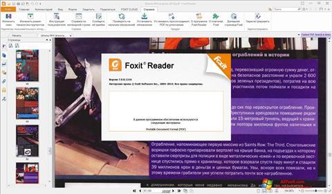 Screenshot Foxit Reader Windows 7