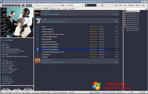 Screenshot Foobar2000 Windows 7