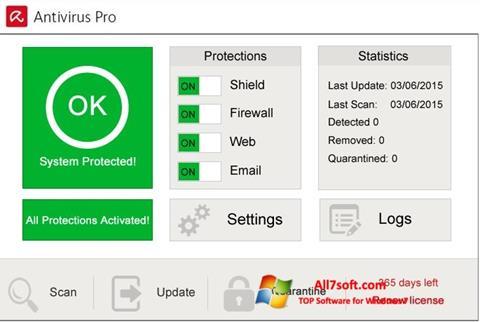 Screenshot Avira Antivirus Pro Windows 7