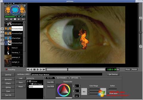 Screenshot JahShaka Windows 7