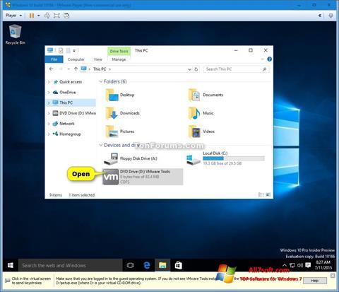 Screenshot Virtual CD Windows 7