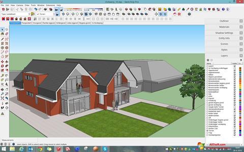 Screenshot Google SketchUp Windows 7