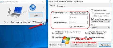 Screenshot Switch Virtual Router Windows 7